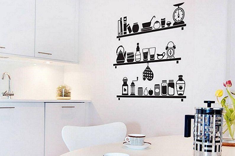 Виды трафаретов для стен под покраску - В зависимости от помещения