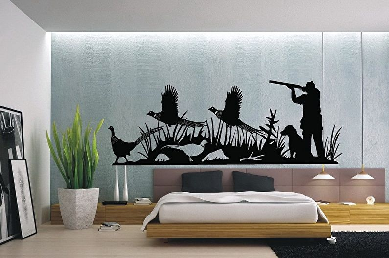 Трафареты для стен под покраску - фото