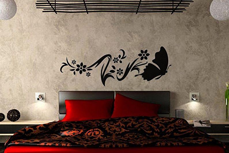 Boyama için duvarlar için şablonlar - fotoğraf