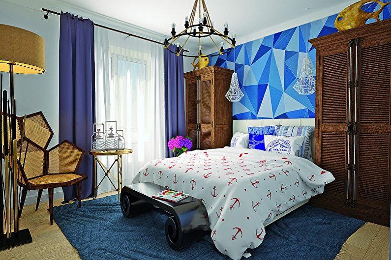 С какими цветами сочетается синий: 95 идей