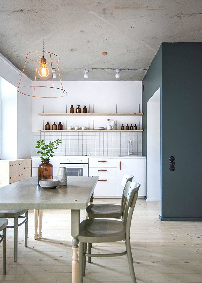Дизайн кухни 13 кв.м. - Декор и текстиль