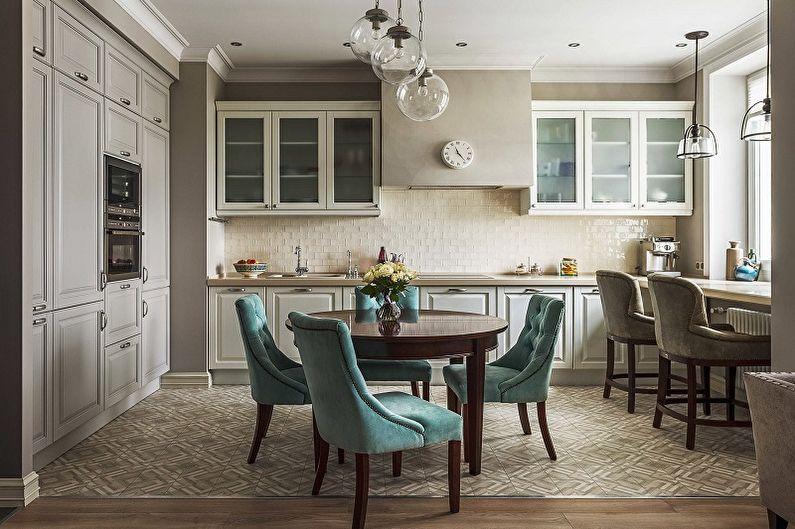 Дизайн кухни 13 кв.м. - Мебель