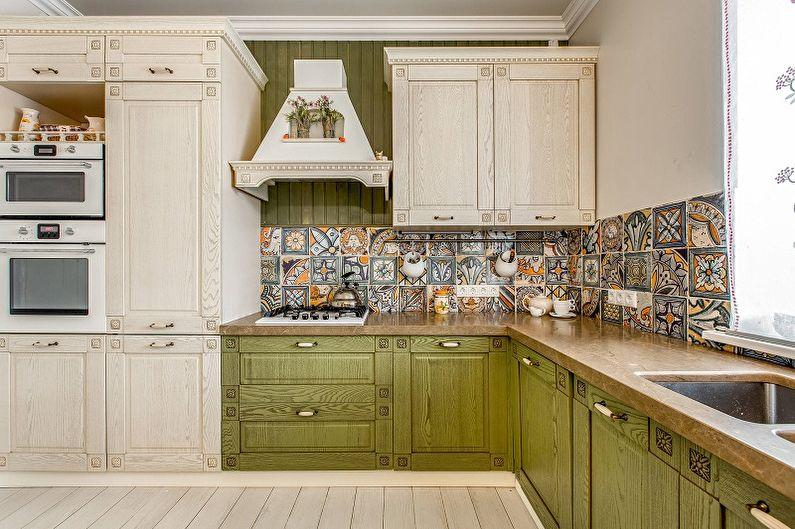 Дизайн интерьера кухни 13 кв.м. - фото