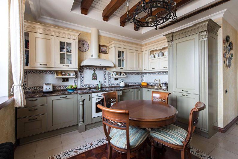Кухня 11 кв.м. в классическом стиле - Дизайн интерьера