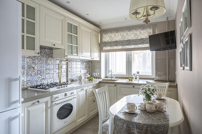 Дизайн кухни 11 кв.м. - Декор и текстиль