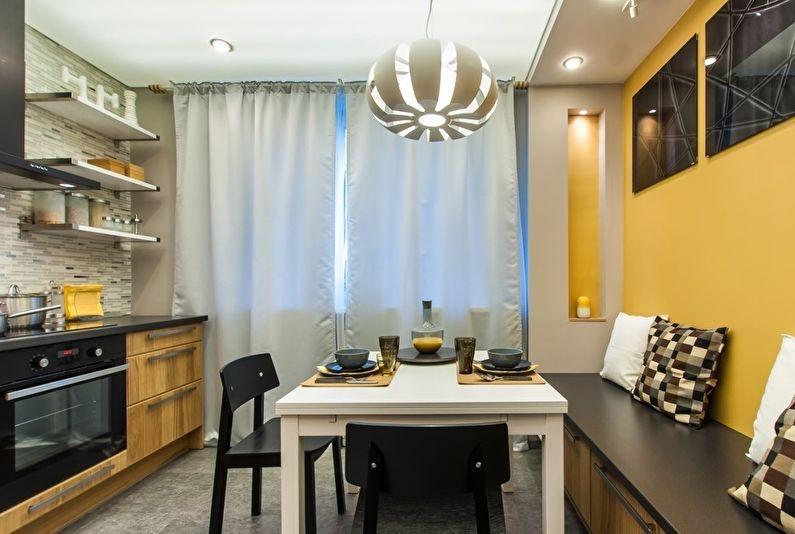 Дизайн кухни 11 кв.м. - Освещение и подсветка