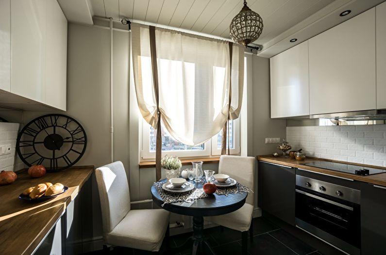 Дизайн интерьера кухни 11 кв.м. - фото