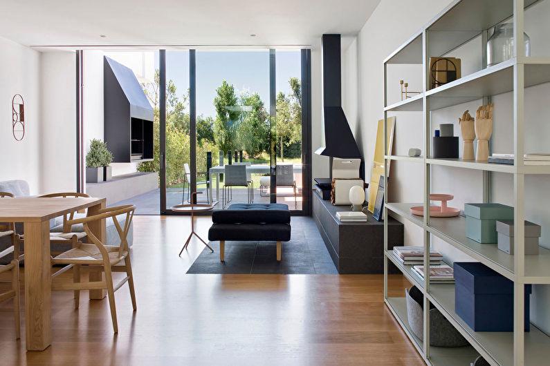Сочетание цветов в интерьере гостиной - Нейтральные оттенки