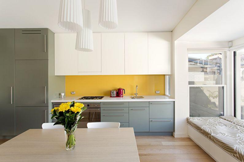Сочетание цветов в интерьере кухни - Палитра с картинки