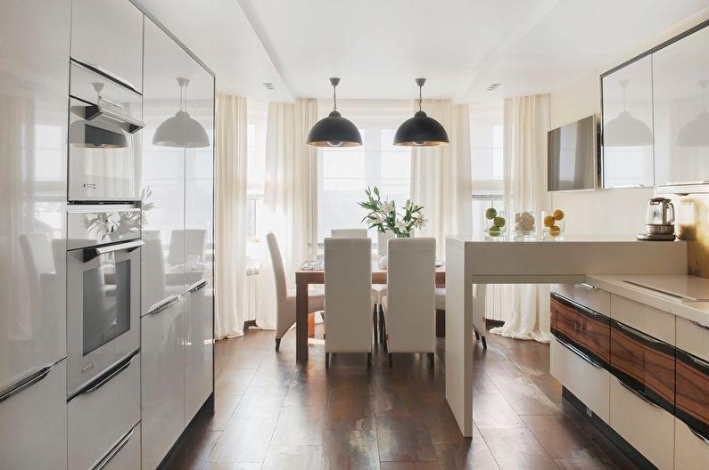 Сочетание цветов в интерьере кухни - Нейтральные сочетания