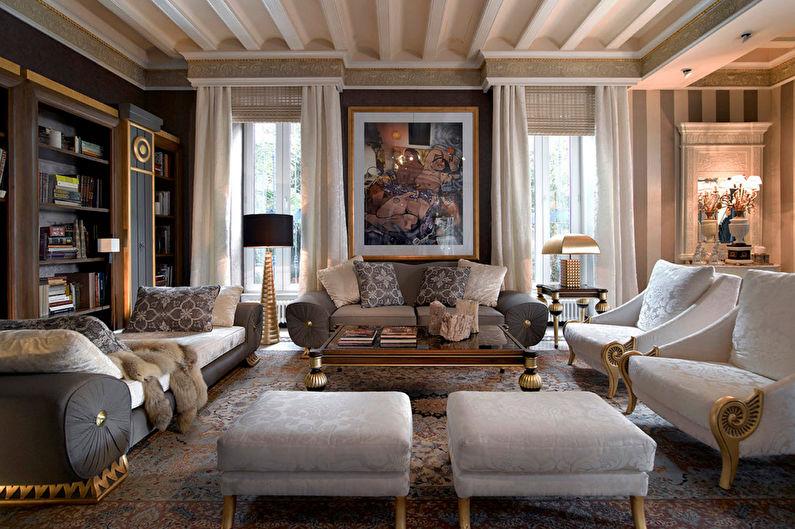 Стиль неоклассика в интерьере - Декор и текстиль