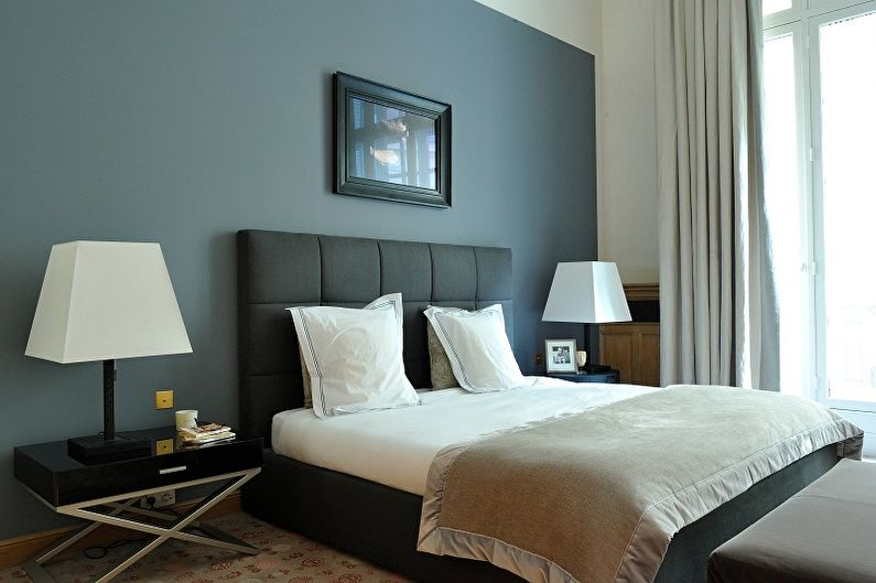 Спальня 10 кв.м. в классическом стиле - Дизайн интерьера