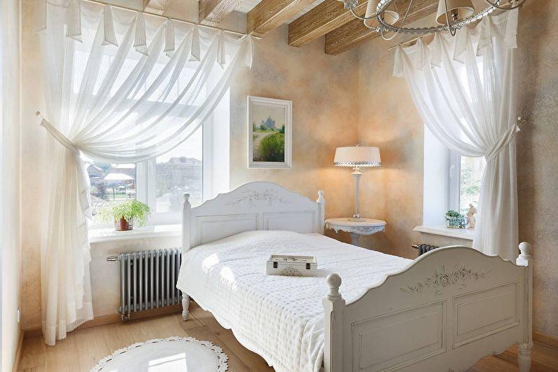 Спальня 10 кв.м. в стиле шебби-шик - Дизайн интерьера