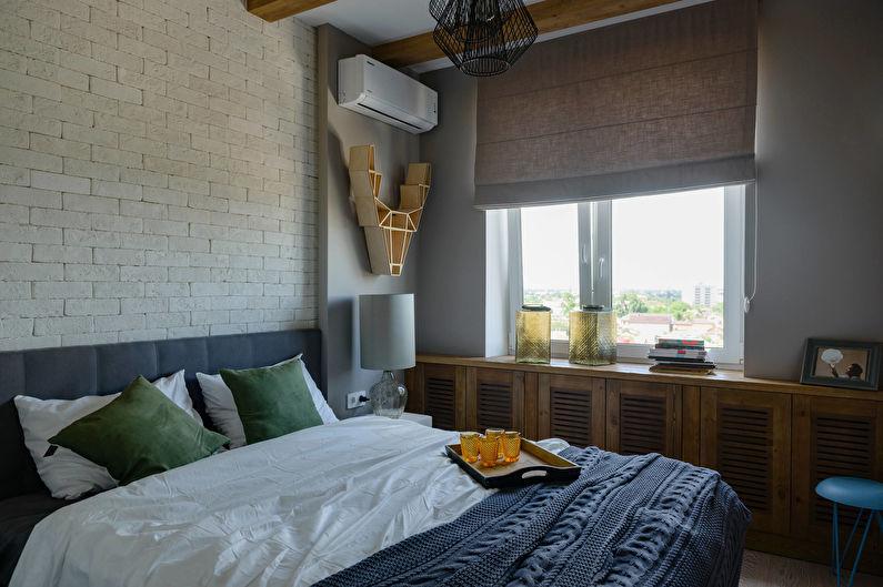 Дизайн спальни 10 кв.м. - Декор и текстиль