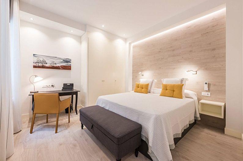 Дизайн спальни 10 кв.м. - Освещение