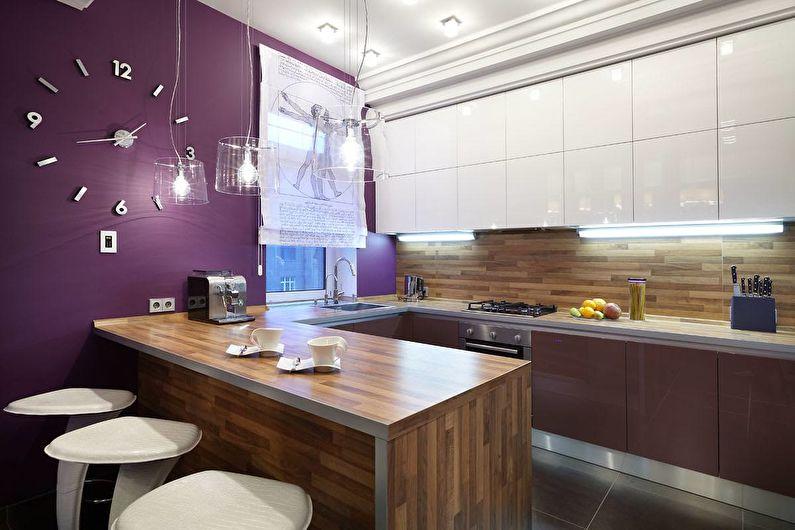 Дизайн кухни 10 кв.м. - Декор и текстиль