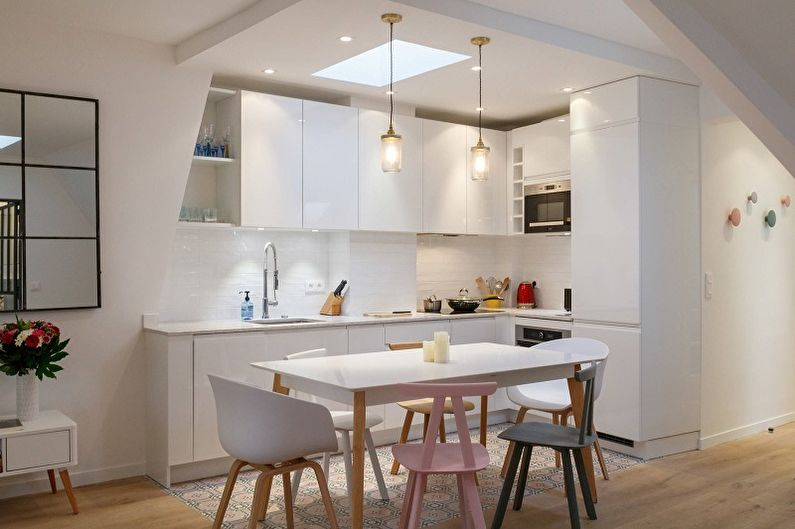 Дизайн интерьера кухни 10 кв.м. - фото