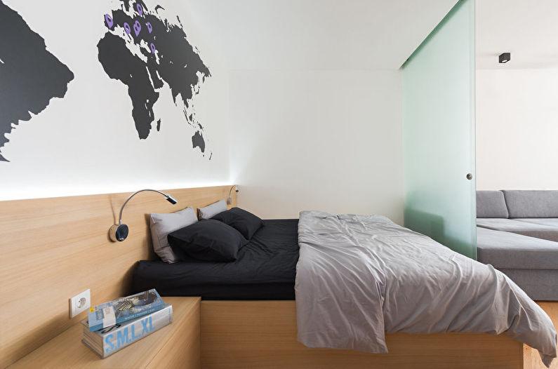Как визуально увеличить комнату - Минимум декора