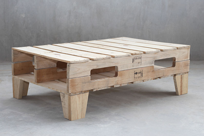 Мебель из поддонов - Преимущества и возможности