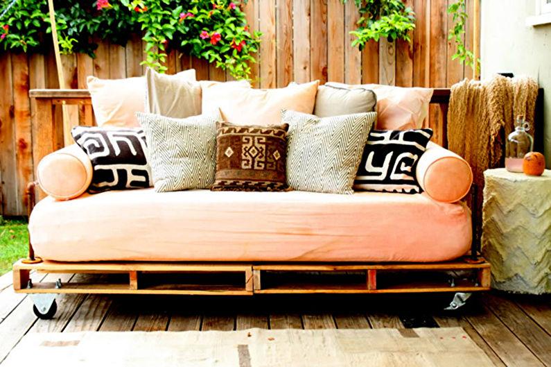 Мебель из поддонов - Диваны и кресла