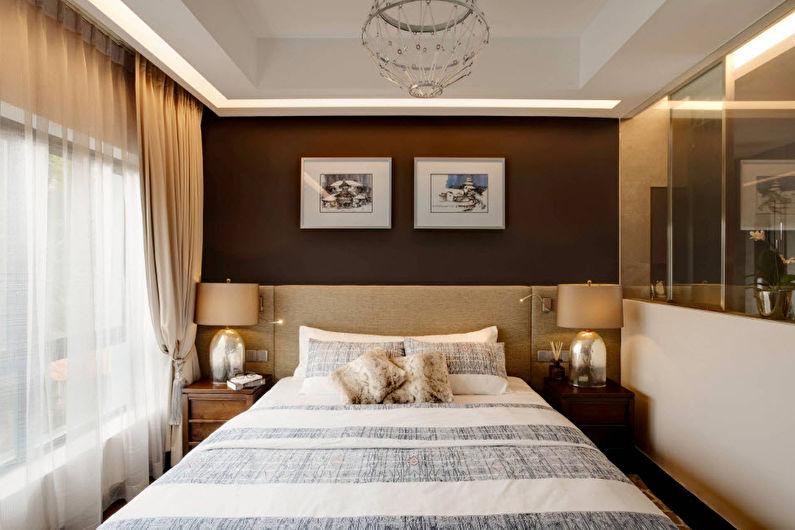 Маленькая спальня в современном стиле - Дизайн интерьера