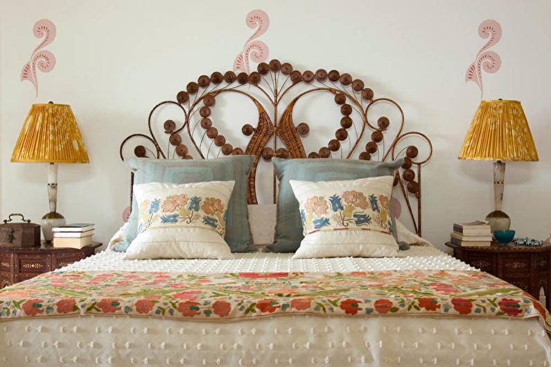 Стиль шебби-шик в интерьере - Текстиль, декор и освещение