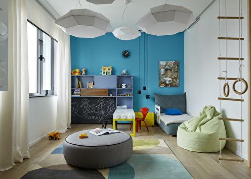 «A Posteriori»: Интерьер детской комнаты