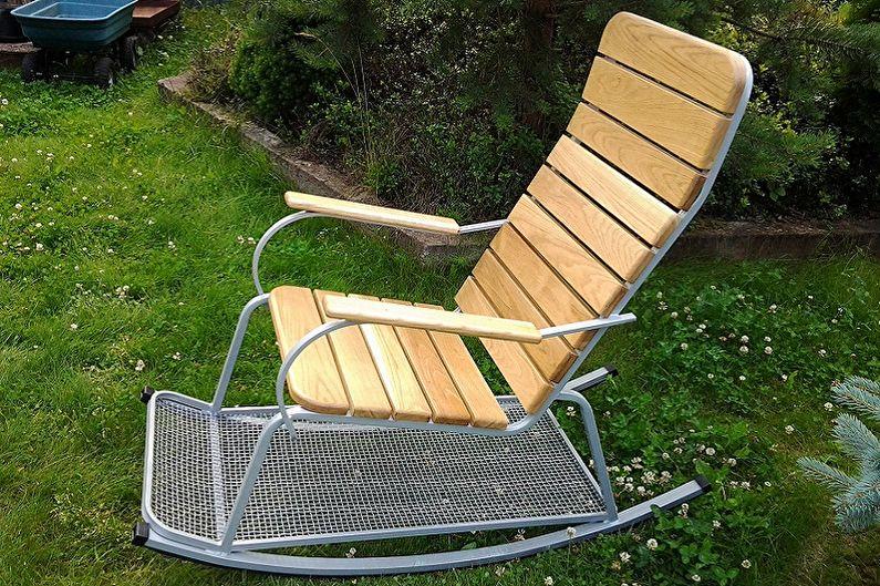 Кресло-качалка своими руками - Подготовка к работе