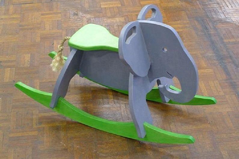 Кресло-качалка из фанеры своими руками - Детское кресло-качалка
