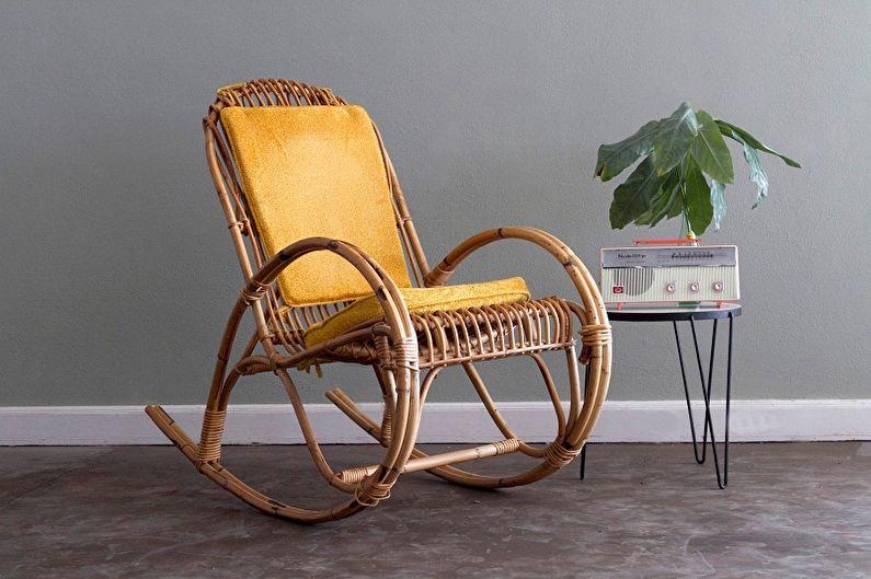 Кресло-качалка своими руками - фото-идеи