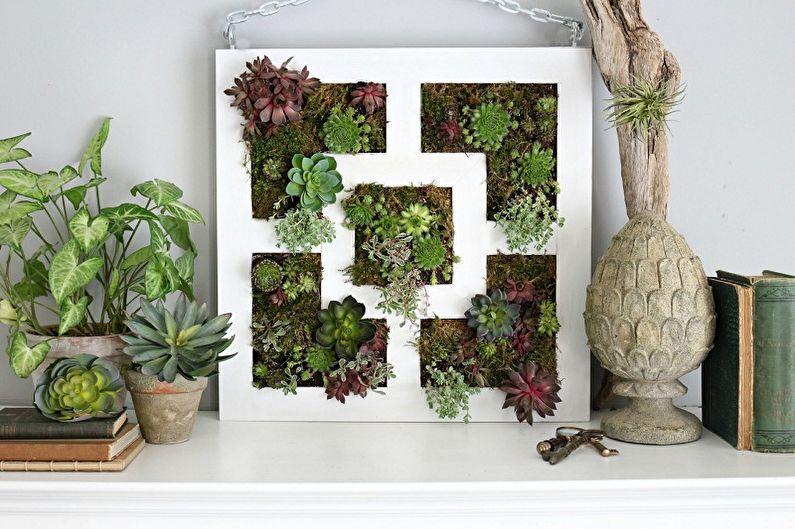 Вертикальное озеленение в интерьере - Способы вертикального озеленения в квартире