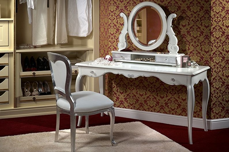 Туалетный столик с зеркалом - Виды