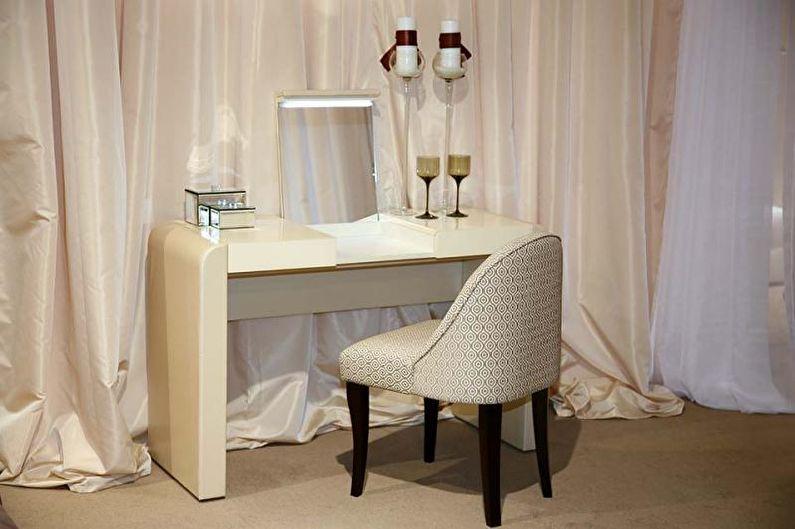 Туалетный столик с зеркалом - Конфигурация зеркал
