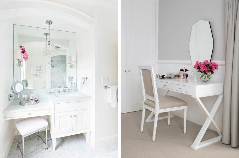 Туалетный столик с зеркалом - фото