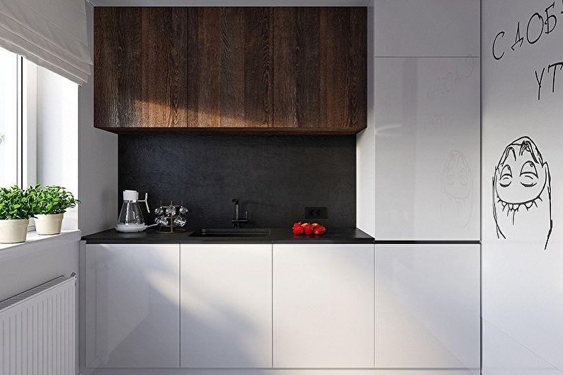 Дизайн кухни в хрущевке - Цвета и стили интерьеров
