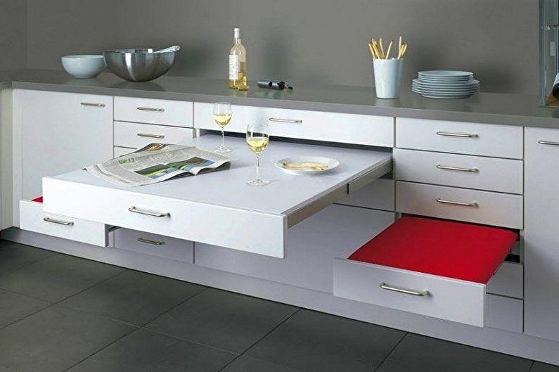 Дизайн кухни в хрущевке - Мебель