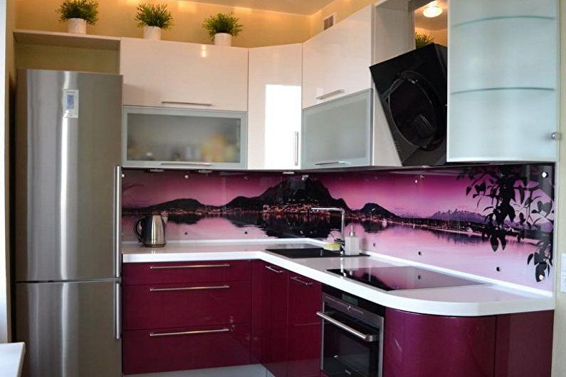 Дизайн кухни в хрущевке - Освещение и декор