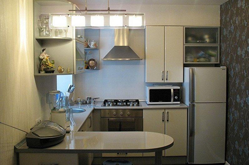 Дизайн интерьера кухни в хрущевке - фото