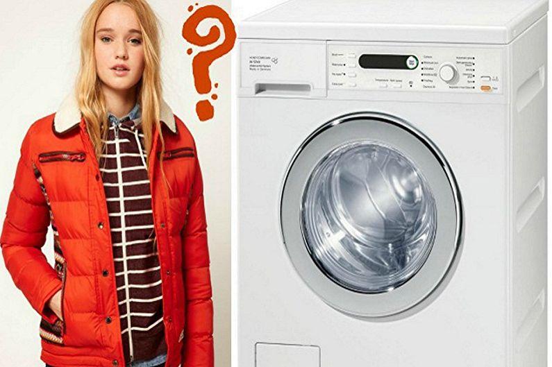 Как постирать пуховик в стиральной машинке - Преимущества стирки в домашних условиях