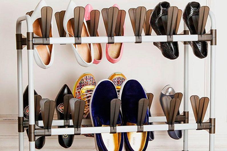 Виды обувниц для прихожей - Обувница-стойка