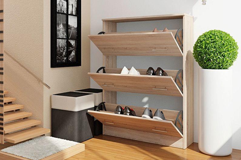 Открытые и закрытые обувницы в прихожую - Плюсы и минусы