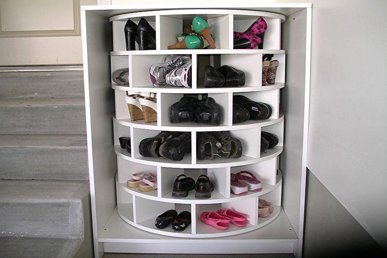 Обувница в прихожую - Тип установки