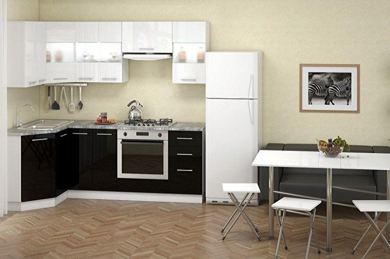 Маленькая угловая кухня - Особенности