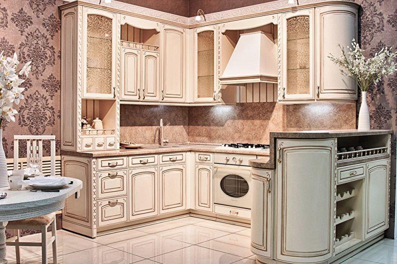 Функционал маленькой угловой кухни - Кухня с барной стойкой
