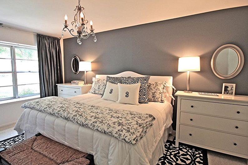 С какими цветами сочетается серый - Дизайн спальни