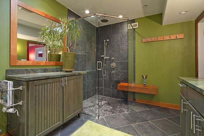 С какими цветами сочетается серый - Дизайн ванной комнаты