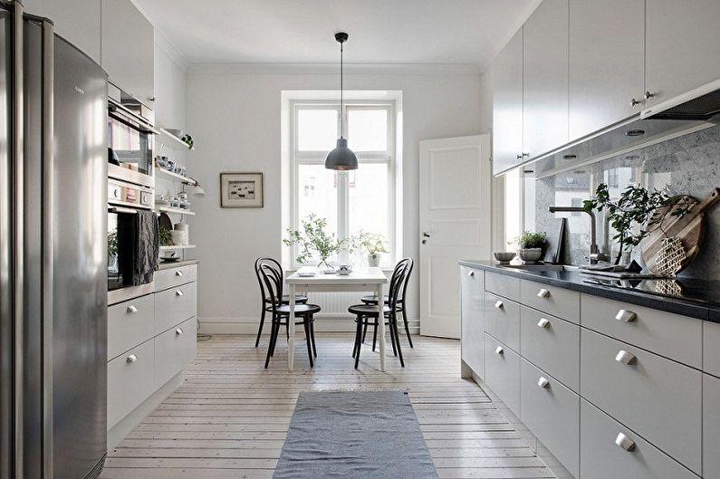 Выбор мебели для кухни в зависимости от планировки - Мебель для рабочей зоны