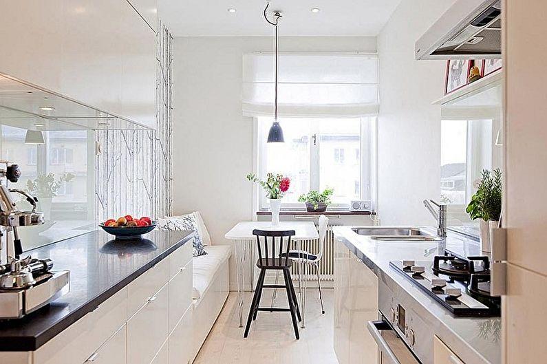 Выбор мебели для кухни в зависимости от планировки - Мебель для обеденной зоны