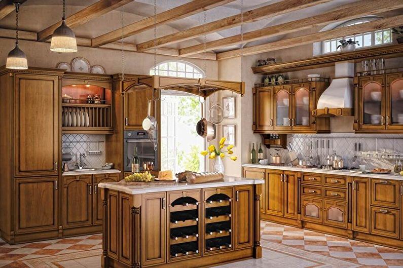 Материалы для изготовления мебели для кухни - Фасады
