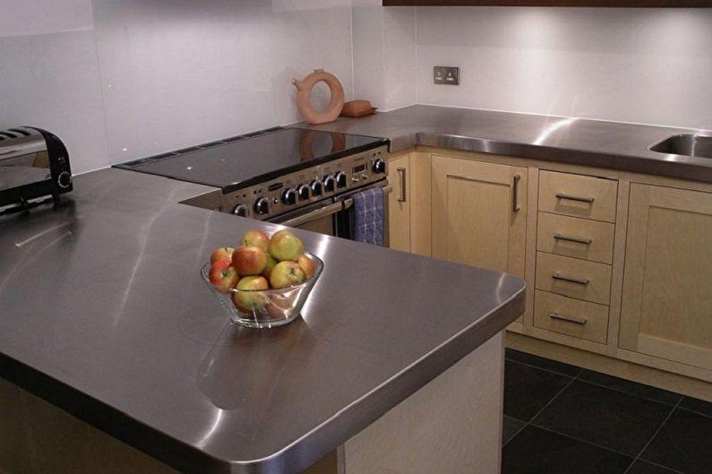 Материалы для изготовления мебели для кухни - Столешница